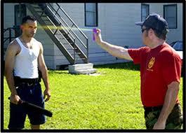 spray anti-aggressione istruzioni
