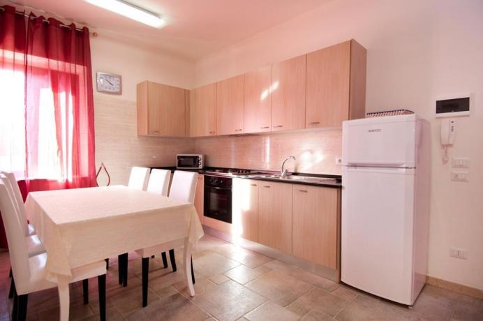Appartamenti con cucina e soggiorno in B&B, Puglia