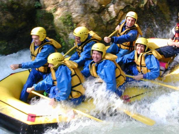 Rafting in Umbria - Lago Pieduloco