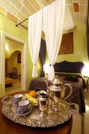 Suite matrimoniali romantiche Hotel**** Salento Galatina