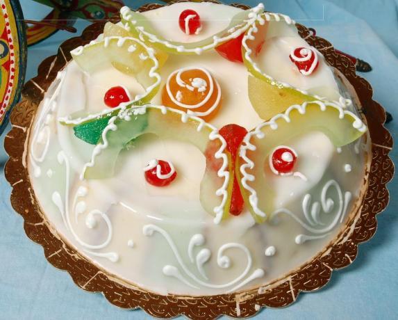 Torta glassata B&B vicino Parco Etna