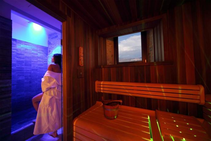 Centro benessere con Sauna ad Assisi