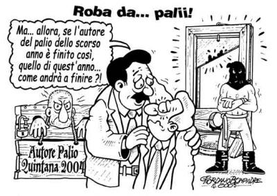 Vignetta - Quintana a Foligno - Umorismo a Fumetti