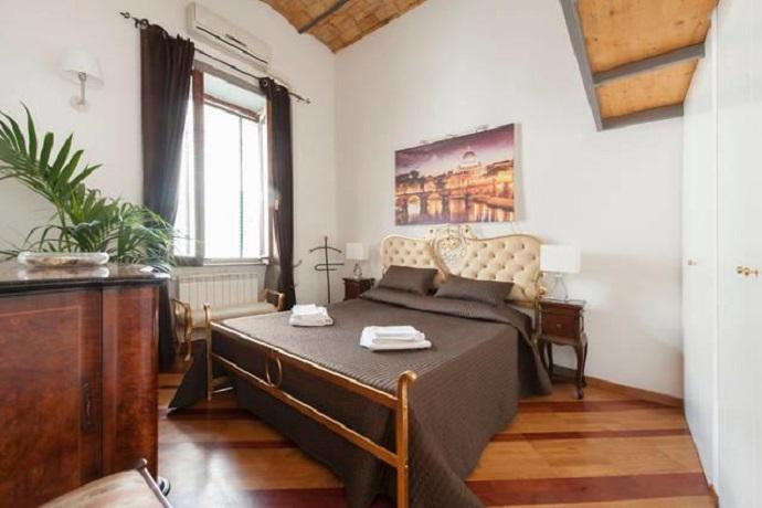 Camera da Letto Romantica a Trastevere A Trastevere Suite per 2/4 ...