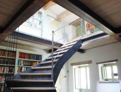 scale e soppalchi ferro e legno
