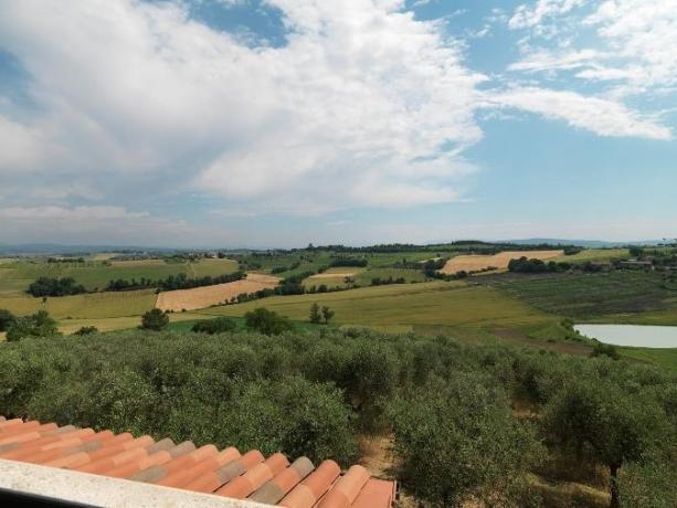 Relax in Umbria, villa con SPA, Terrazza panoramica