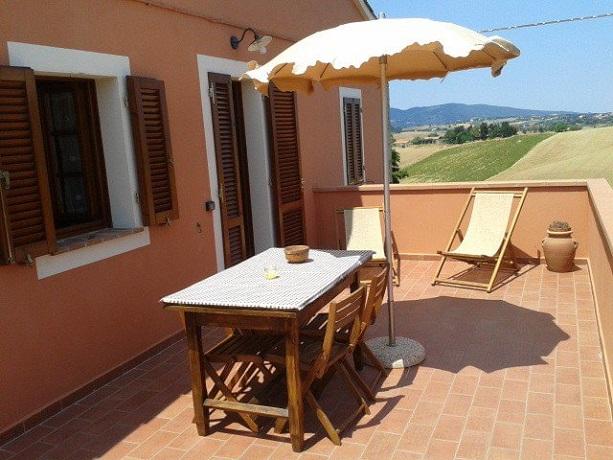 Appartamenti con Balcone e Lettini Relax
