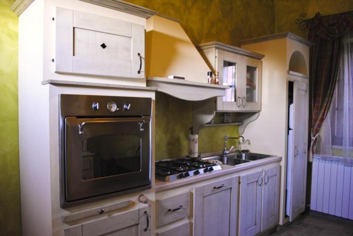 Fornelli in Cucina a Castiglione del Lago Villa-Chiara