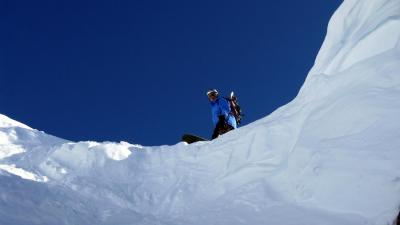 Skiing offpist or crosscountry in Valle d´Aosta