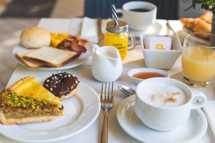 Colazione dolce e salata hotel3stelle Igea Marina