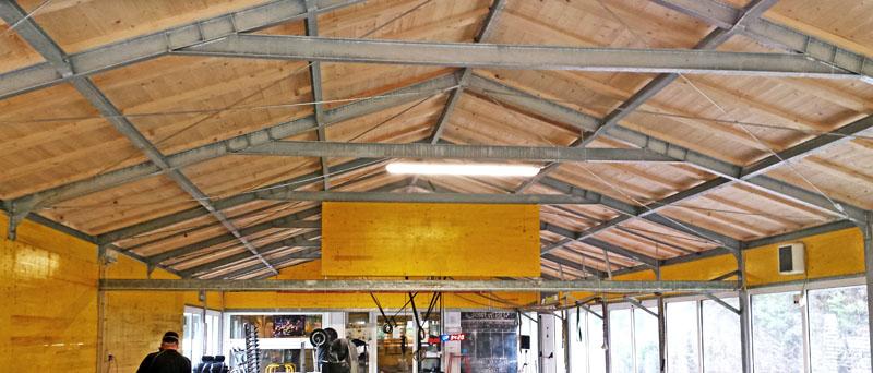 magazzini in acciaio