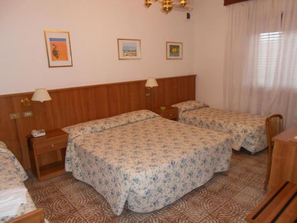 Camera quadrupla hotel vicino Chianciano Terme