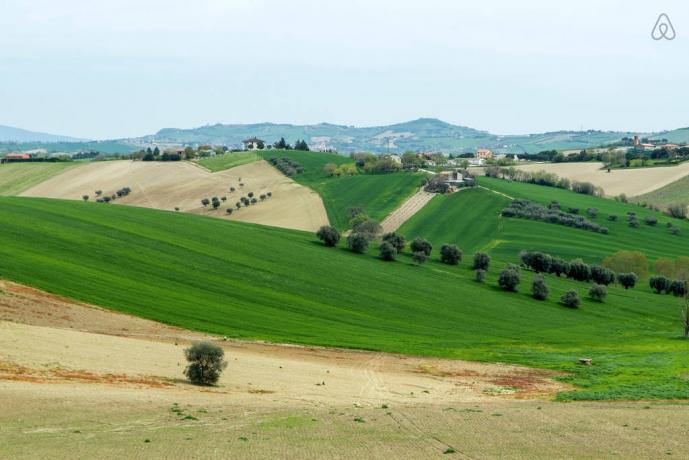 Panorama e vista dalla villa