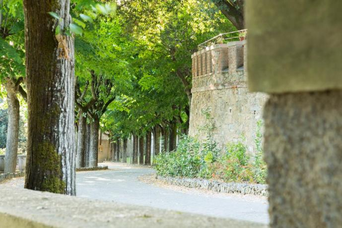 Vialone parco albergo di lusso Perugia