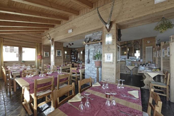 Ristorante Albergo Chatrian con cucina tipica