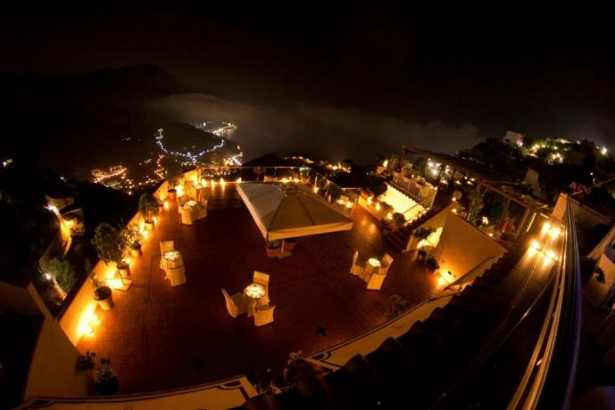 Cena romantica in Hotel a Ravello