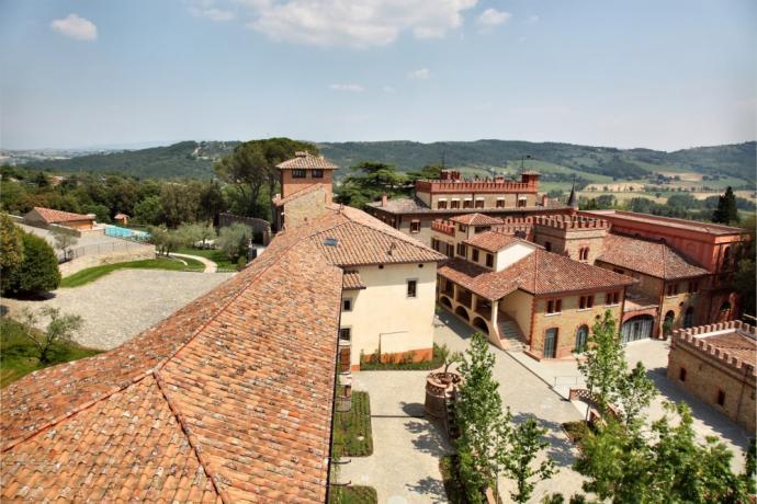 Albergo di lusso Perugia con piscina