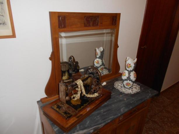 Hotel a Chiusi con oggetti d'epoca