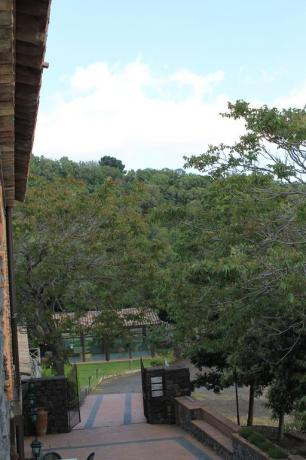 Viale agriturismo Adrano vicino Ponte Saraceni