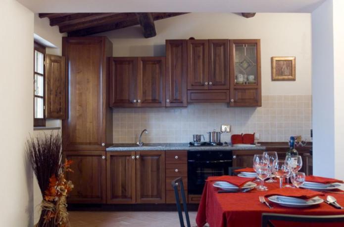 Cucina con Forno e Lavastoviglie