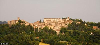 Montone in provincia di Perugia