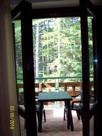 Hotel Parco Nazionale d'Abruzzo camera con terrazzo