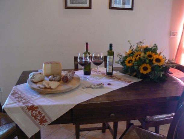 Agriturismo con degustazione prodotti tipici Umbria