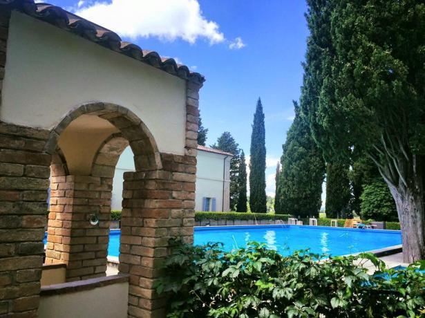 Villa per famiglie con piscina Città di Castello