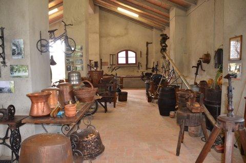 Museo con antichi attrezzi agricoli
