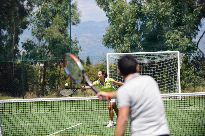 Campi sportivi nel Villaggio La Riserva Verde