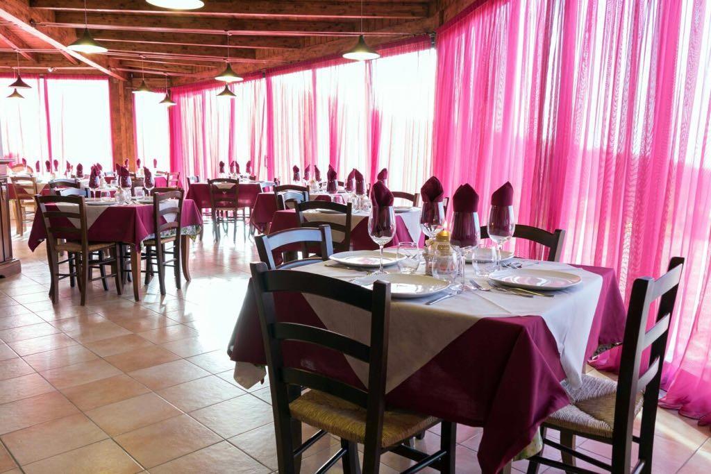 Sala ristorante può ospitare catering per eventi