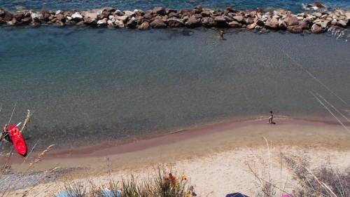 Spiaggia Pulita a Palinuro in Campania
