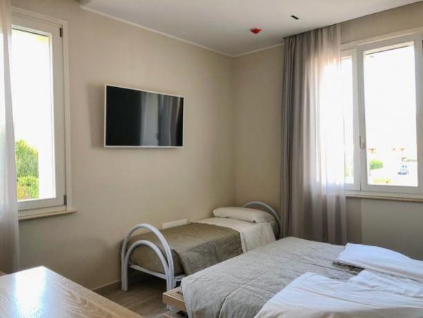 Camera Tripla a Foligno con Zanzariere e WI-FI