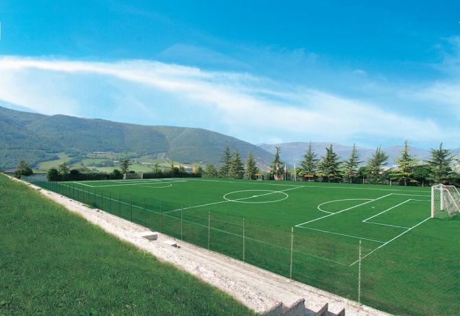 Ritiri di calcio a Norcia