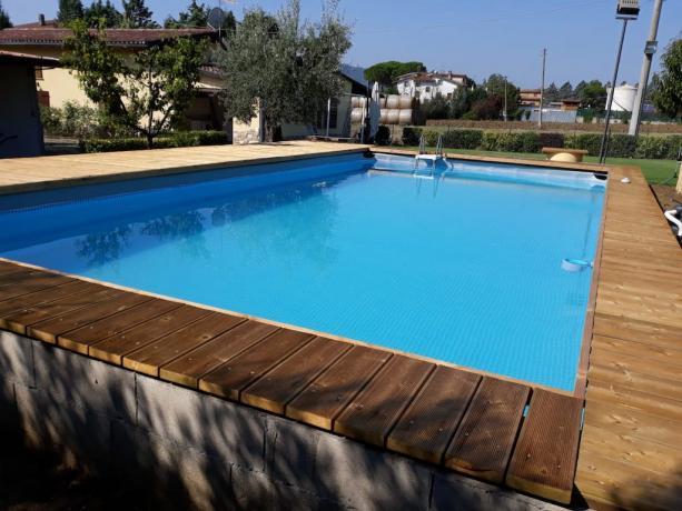 Piscina in casale a Tavernelle vicino Perugia