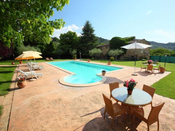 Soggiornare in Umbria Villa con Piscina