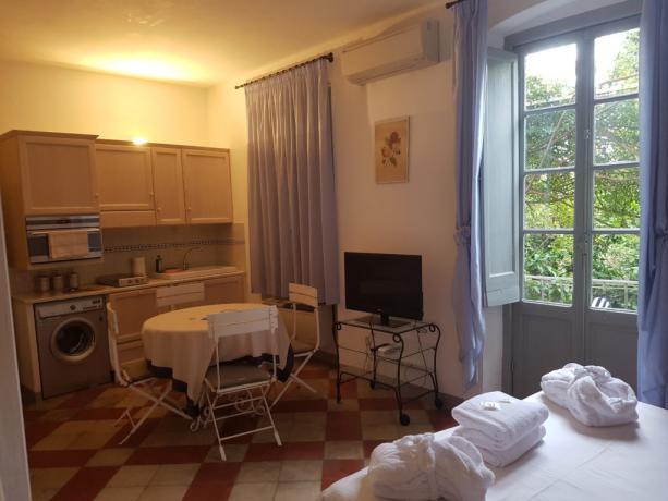 Cucina Monolocale Isotta Il Borgo Medievale