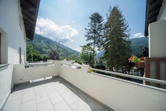 Appartamentivacanze monolocale classico con balcone Bardonecchia
