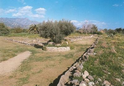 archaeological park Giardini Naxos