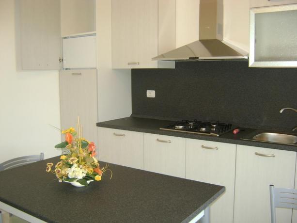 Appartamenti in Puglia con angolo cucina