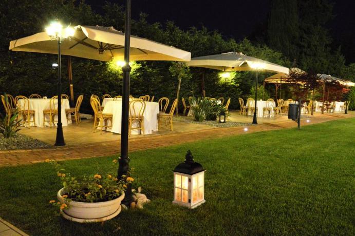 Resort 4 stelle con ampio cortile a Castellana