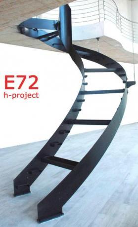 scala fascione elicoidale per gradini in legno