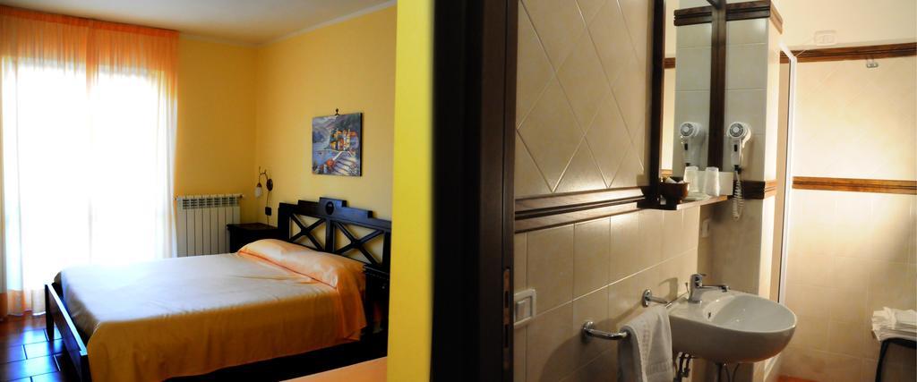 Hotel Parco Nazionale d'Abruzzo Alfedena camera con bagno
