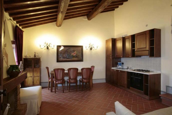 appartamento vacanze Viola 5persone con cucina Capolana