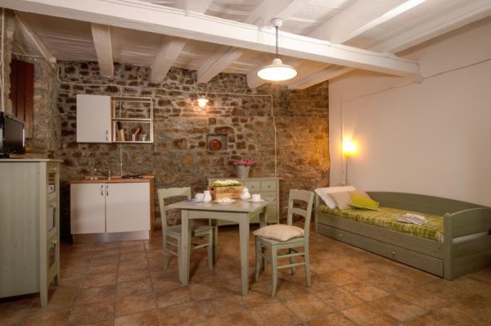 Appartamento con Cucina e Giardino a Pietrapertosa