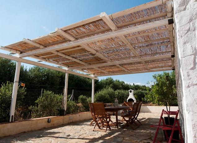 Villa con Piscina veranda e Spiaggia Castelverano