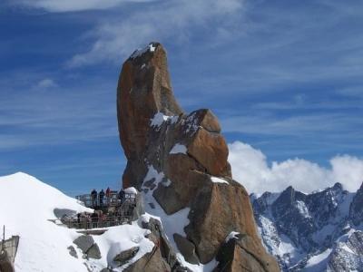 L'Aguille du Midi, Monte Bianco