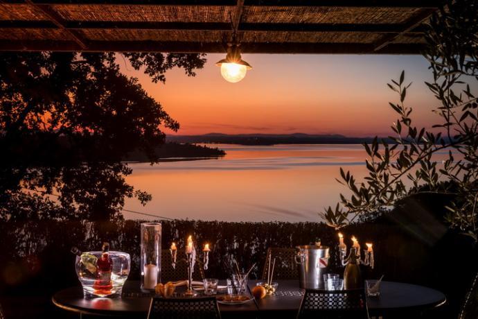 Villa Romantica dove potrete cenare con vista