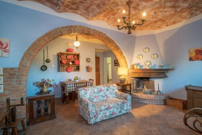 Appartamento vacanze Giaggiolo con camino Castiglione-del-lago