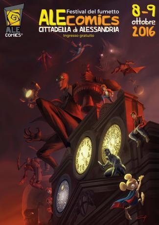 Alessandria 15-16 Settembre - ALEcomics - Festival del Fumetto
